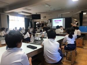 清瀬 私立 小学校 東星学園 大矢正則校長 水道キャラバン(2)