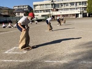 清瀬 私立 小学校 東星学園 大矢正則校長 運動会・体育祭競技(8)