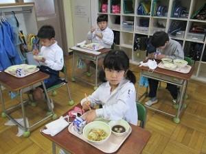 カトリック ミッション 男女 東星学園 大矢正則校長 鏡開き献立(3)