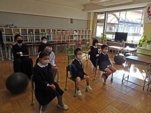 東星学園 校長 大矢正則 始業日(4)