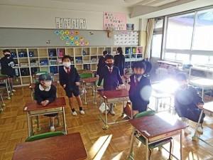 東星学園 校長 大矢正則 始業日(2)
