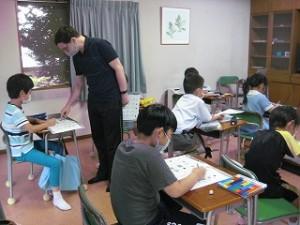 清瀬 私立 小学校 東星学園 大矢正則校長 きらきらクラブ 英語(2)
