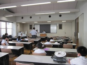 東星学園 大矢正則校長 児童会役員選挙(3)