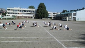 カトリック ミッション 男女 東星学園小学校 大矢正則校長 もうすぐ体育祭(1)