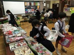 清瀬 私立 小学校 東星学園 校長 大矢正則 バザー販売会(2)