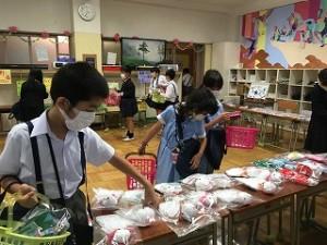 カトリック ミッション 男女 東星学園 校長 大矢正則 バザー販売会(3)