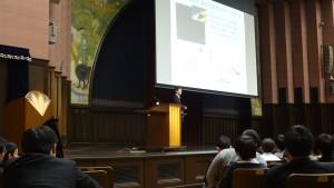 東京大学安田講堂にて学術講演会(高1・2対象)を実施しました。